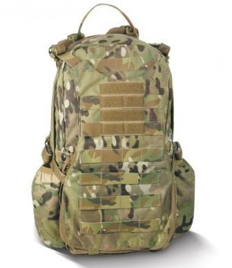 Крепления на тактическом рюкзаке Huron SOF