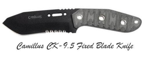Нож для выживания Camillus CK-9,5 с фиксированным лезвием