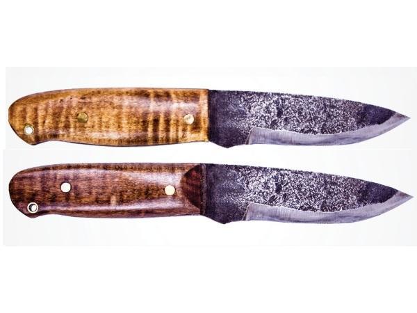 2 варианта ножей для выживания haswell-knife ручной работы
