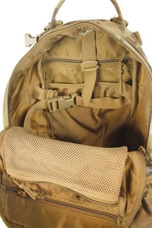 Рюкзак для спецназа Huron SOF изнутри