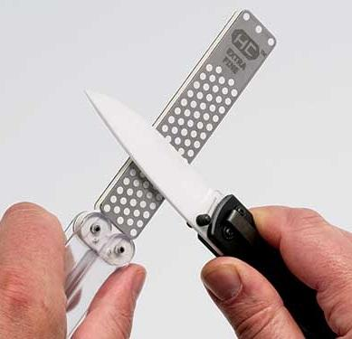 Профессиональная походная точилка для ножей DMT
