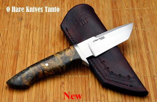 Нож ручной работы с фиксированным лезвием Ohare Tanto