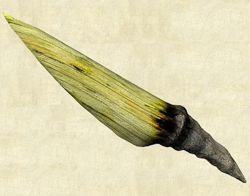 Нож из дерева