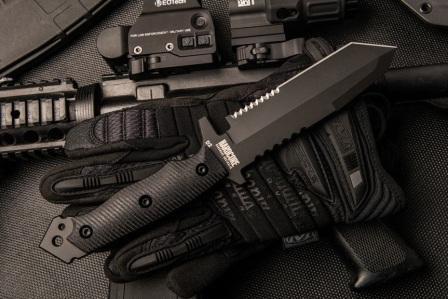 Нож для бушкрафта MFK02-GEN II в черном исполнении