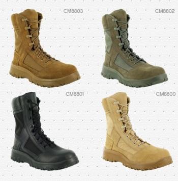 Цветовые варианты военной обуви Reebok Krios