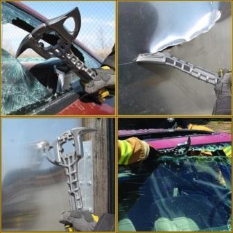 Применение штурмового спасательского топора Titanium Crash Axe