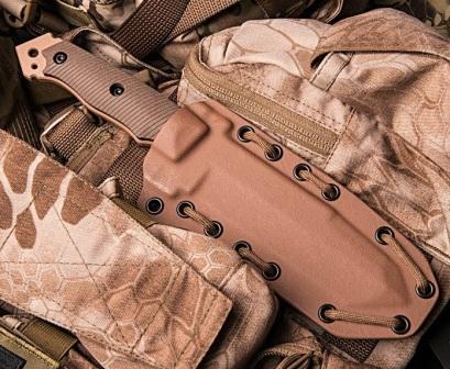 Нож с серейтором MFK02-GEN II в ножнах