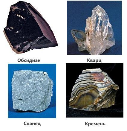Виды камней для изготовления каменного ножа