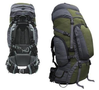 Наиболее распространенным среди туристов считается каркасный рюкзак.