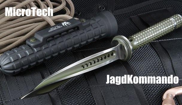 Ножя для альпийского спецназа MicroTech JagdKommando
