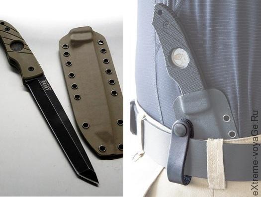 Неразрушимый нож для выживания Hoffner «Зверь»