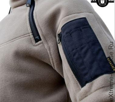 Термо куртка-пуловер из шерсти и флиса Kitanica 2-Zip Fleece