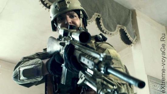 Тактические перчатки серии American Sniper от Mechanix