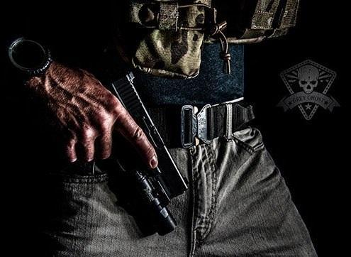 Пояс Paladin Cobra в тактической обстановке