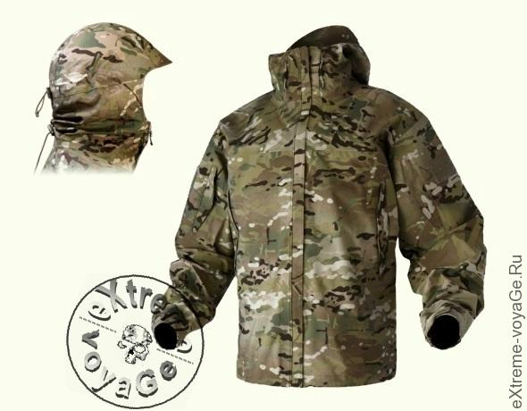 Тактическая хардшелл куртка на бронежилет Wild Things