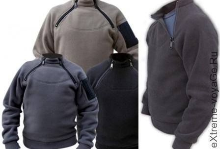 Свитер для холодной погоды Kitanica 2-Zip Fleece1