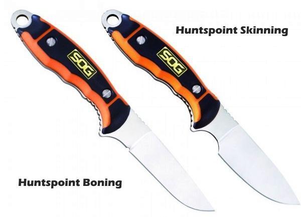 Внешний вид ножей для охоты SOG Huntspoint 2015 года