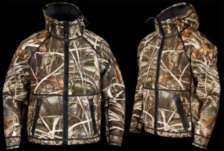 Куртка для охоты на уток StormR Typhoon Camo