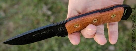 TOPs Knives Overlander 2