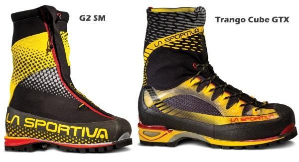 La Sportiva G2 SM + Trango Cube GTX