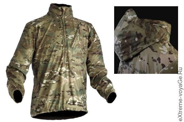 Походная камуфляжная ветровка с капюшоном Wild Things Windshirt