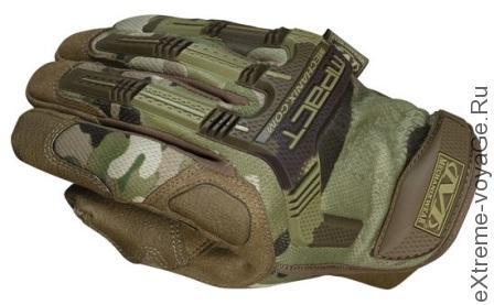 Тактические перчатки Mechanix MultiCam M-Pact
