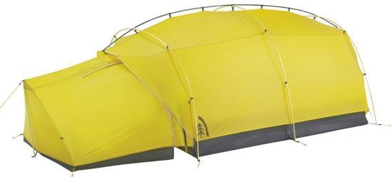 Двух- и трехместные горные палатки Sierra Convert