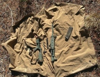 Пончо обеспечивает уход за оружием в полевых условиях
