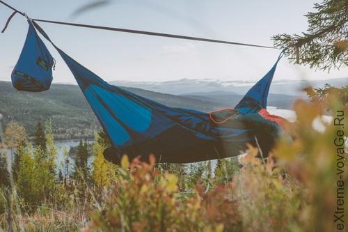 Туристическая палатка-гамак с тентом Amok Draumr 2,0