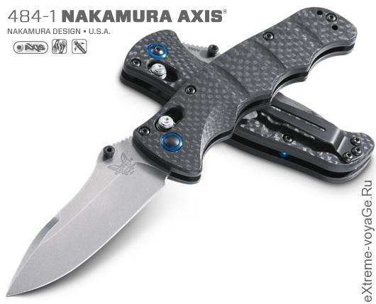 Складной нож для EDC набора Benchmade 484-1 Nakamura