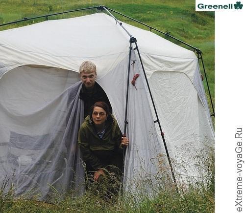 Тент-шатер для кемпинга и авто экспедиций Greenell Taerk