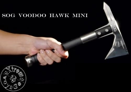 Легкий походный томагавк SOG Voodoo Hawk Mini