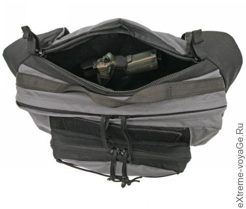 Наплечная сумка со скрытой кобурой Concealed Carry