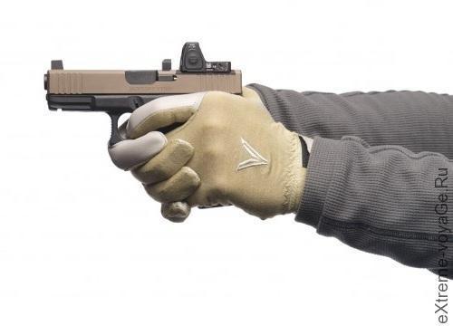 Стрелковые перчатки быстрого реагирования Trigger Glove