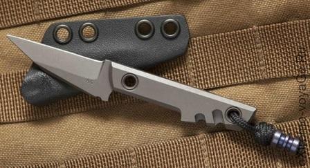 Amsler Knives Mini Slik Pikal Knife Titanium