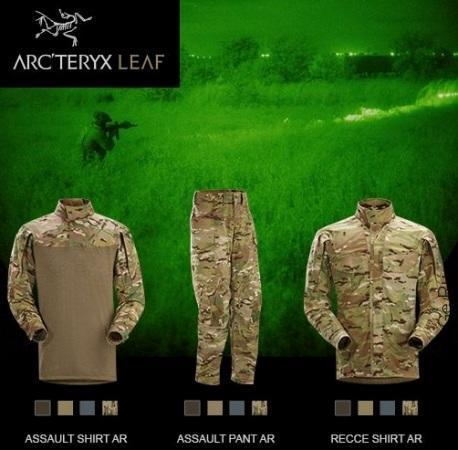 Arcteryx LEAF Enhanced Combat Uniform 2015