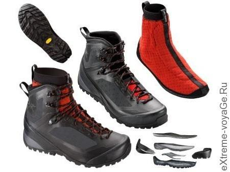 Трекинговые ботинки Bora2-Mid-GTX