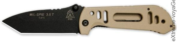 TOPs Knives MIL SPIE 3.5 Tanto Point