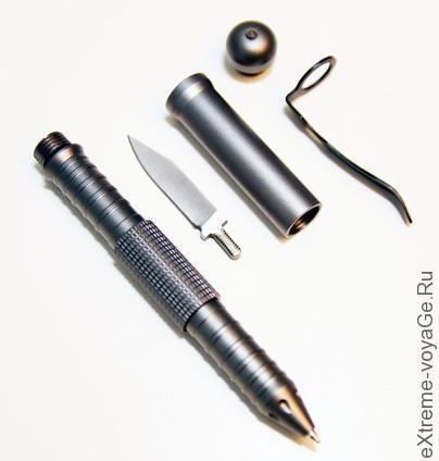 Тактическая  ручка Attachment Pen - набор EDC