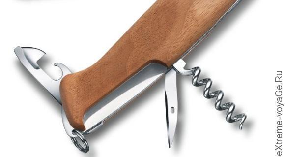 Тыльная часть ножа-мультитула Victorinox RangerWood 55