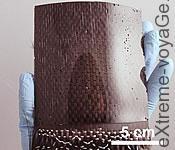 Суперклей на материале