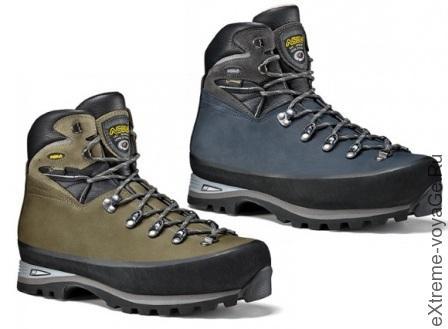 Горные ботинки доступны в двух цветах Tundra и Blu Navy