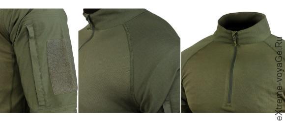 Внешний вид тактической рубашки Combat Shirt