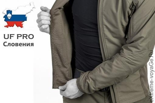 Разворот охотничьей куртки Hunter FZ Jacket 37,5