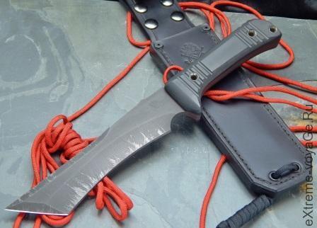 Нож для выживания Vehement Knive Vehemoth с ножнами Spec Ops