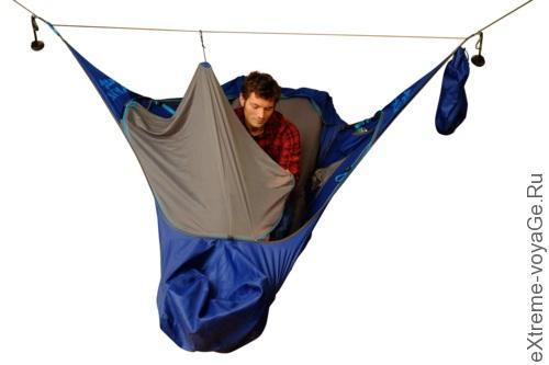 Подвесная гамак-палатка