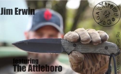 Тактический боевой нож спецназа США Attleboro