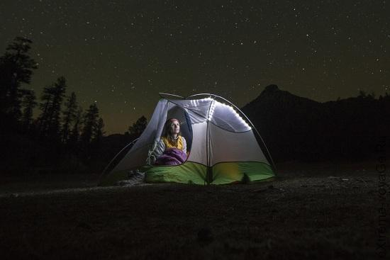Новые горные палатки с освещением Big Agnes mtnGLO
