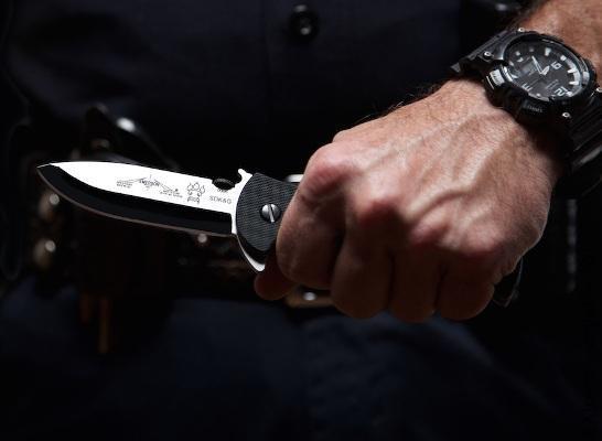 Складной нож для ножевого боя и выживания Sheepdog
