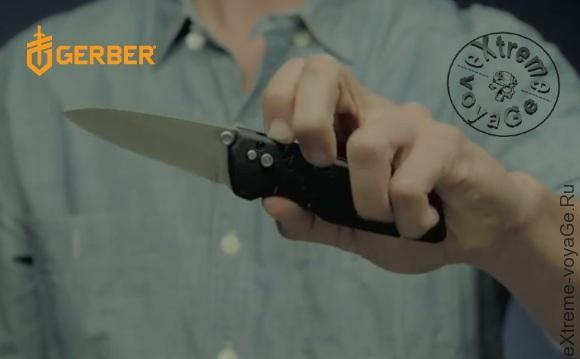 Недорогие складные ножи Gerber Skyridge АО и Airfoil